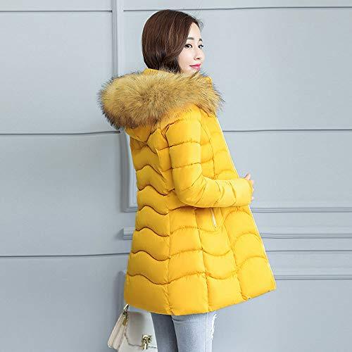 Mujer Jackets Capucha Punto Chaquetas De Amarillo Ropa Cremallera Mujer Abrigo Invierno Sin Ashop SAPq5cRwR