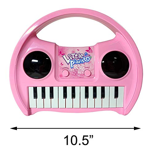 KidPlay Products Little Pianist Singing Musical Karaoke Lights Up Keyboard by KidPlay Products (Image #8)