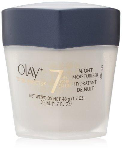 Total Effects de Olay 7 en 1 correcteur de teint Nuit Hydratant 1,7 Fl Oz