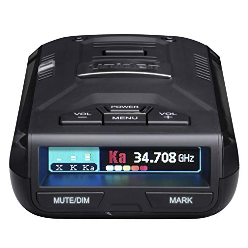 Uniden R3DSP R3 Dsp Extremely Long-Range Radar Detector/Laser Detector with GPS (Best Radar Detector For The Money)