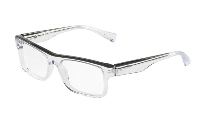7bff9fba8e6 Alain Mikli - Monture de lunettes - Femme Transparent BLACK GREY CRYSTAL 54