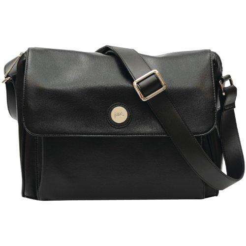 Wristlet Ego - Jill-e Designs E-GO Tablet Messenger - Black Leather (373519)