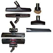 """5 Piece Universal Vacuum Attachment Tool Accessory Kit - Fits Any Brand That Use 1 1/4"""" Friction Fit Attachments Such As Hoover, Bissell, Eureka, Royal, Dirt Devil, Koblenz, Kirby, Rainbow, Tristar, Kenmore, Oreck, Electrolux, Panasonic, Shop Vac, Ridgid, Craftsman, Beam, Vacuflo, Vacumaide, Cen-tec, Proteam, Evolution, Cirrus, Sanitaire. Will Fit Many More Brands and Models but You Must Measure and Confirm Before Purchasing. These Are Not Button Lock Attachments. The Style of Tool You Receive May Vary Depending on Stock."""