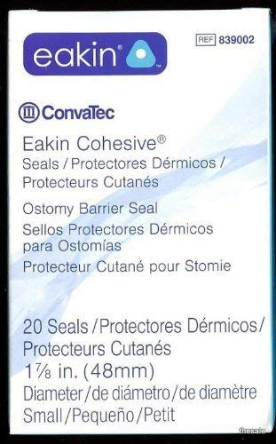Convatec EAKIN #839002 Ostomy Seals 48mm (Fresh Stock) by ConvaTec