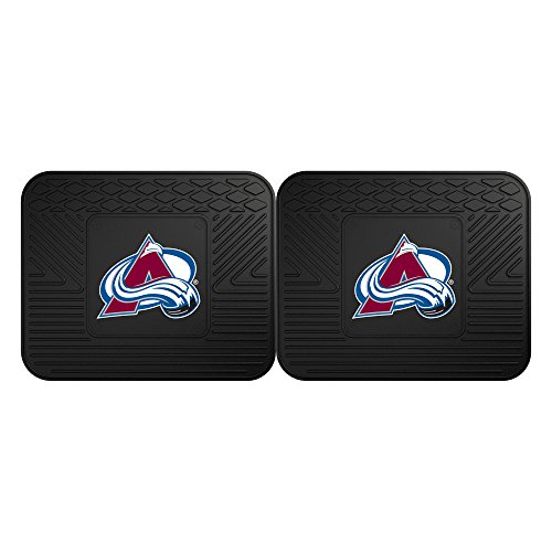 FANMATS NHL Colorado Avalanche Vinyl 2-Pack Utility Mats