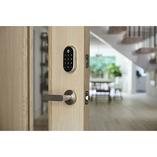 Yale Deadbolt Lock with Nest Connect-(Satin Nickel), Silver by Yale (Image #5)