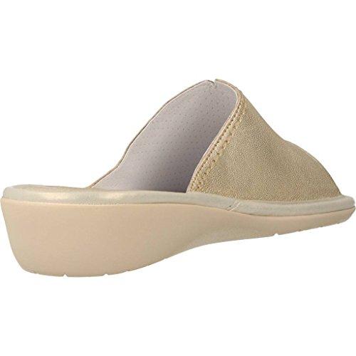 Zapatillas de estar por casa de mujer, color gold , marca NORDIKAS, modelo Zapatillas De Estar Por Casa De Mujer NORDIKAS 8040B 4 Gold Gold