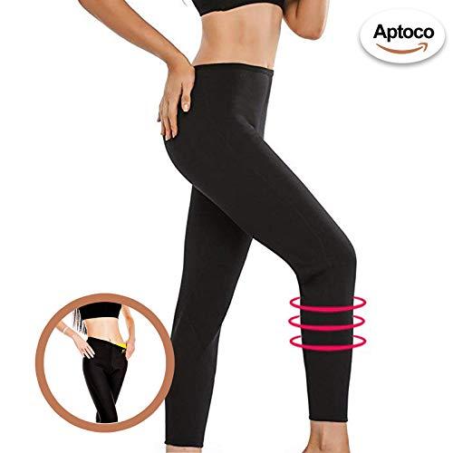 E Termico Dimagranti Pantaloni Vita In s Con Donna Modellanti Neoprene Cintura Aptoco Da EqOTaASqp