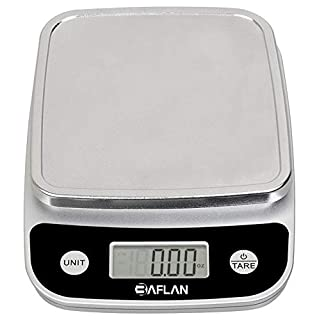 Digital Food Kitchen Scale Multifunction Measures in Grams and Ounces - Elegant Black