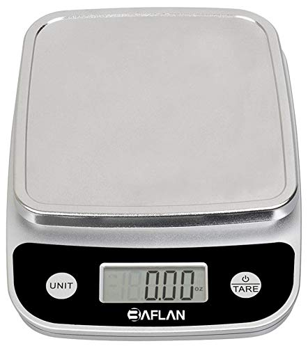Digital Food Kitchen Scale Multifunction Measures in Grams and Ounces - Elegant Black