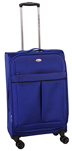 american-flyer-simply-lite-28-inch-upright-spinner-luggage-blue-one-size