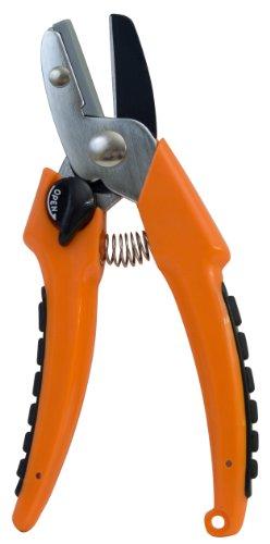 Flexrake LRB502 Anvil Pruner with Plastic Handles, 1-Inch Capacity