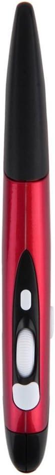 Braceus Mini 2.4GHz Wireless Optical Pen Shape Mouse Adjustable 500//1000DPI for PC Grey
