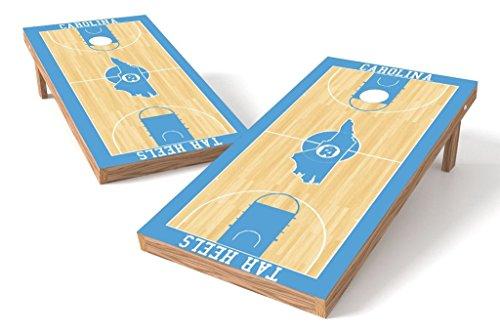 PROLINE 2'x4' NCAA College North Carolina Tar Heels Cornhole Set - Hoops Design