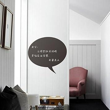 Open buy   adesivo in vinile rimovibile da parete, motivo lavagna ...