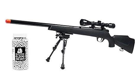 amazon com a n airsoft sniper rifle uhc super x9 pro bolt