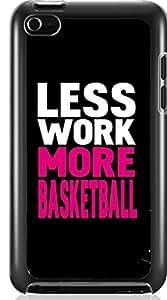 Basketball Sport Hard Case for Apple iPod touch 4 4G 4TH ( Sugar Skull )