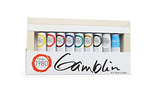 - Gamblin 1980 Oil Color Exclusive Set