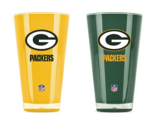 Green Bay Packers Items - NFL Green Bay Packers 20oz Insulated Acrylic Tumbler Set of 2