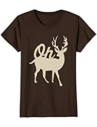 Oh Deer - funny animal pun t-shirt