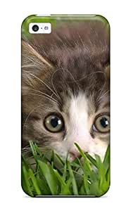New Style Hiding In The Grass Premium Tpu Cover Case For Iphone 5c Kimberly Kurzendoerfer