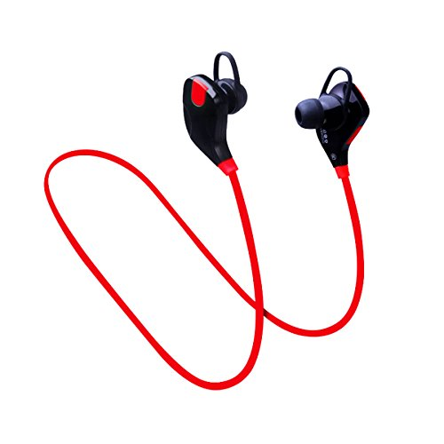 Headset Microphone Diva (DIVA tech S7 Bluetooth earphones Wireless Sports Stereo Earphones with Mic Sweatproof Noise Cancelling Headsets for IOS and Android Phone work talk play workout gym smartphones tablets)