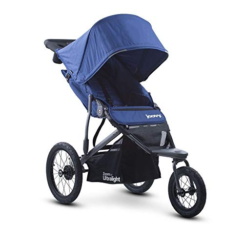 Joovy Zoom 360 Ultralight Jogging Stroller, Blueberry - Revolution Jogging Stroller