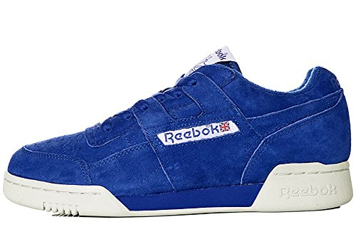 Reebok BD3383 Workout Plus Vintage Red BLUE CHALK WHITE Tienda 57Q6Rud