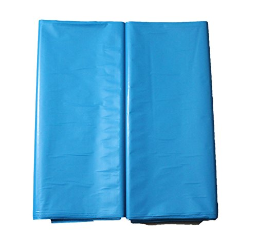 "100 12""X15"" Durable Merchandise bags Pick ur Color Die Cut Handle-Glossy finish-Anti-Strech-100% Recyclable. For Retail store, Party favors, Handouts and more by Best Choice (Teal Blue)"