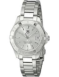 TAG Heuer Womens WAY1311.BA0915 Analog Display Quartz Silver Watch