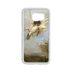 Cupid Cherub Hard Plastic Phone Case for samsung galaxy s6 Shell Phone ZDSVEN(TM)