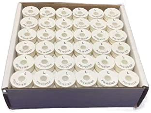 Sewing Notions & Supplies Bobbins Pre-Wound Embroidery Bobbins Style L Prewound Bobbins for Machine Embroidery