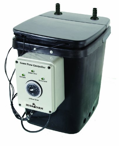Active Aqua GFO7CB Unit w/2 Pumps Flow Ebb and Grow Controller, Black