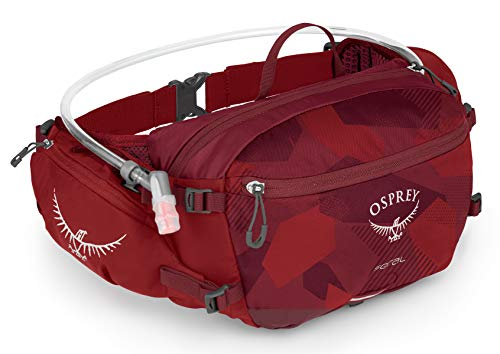 Lumbar Pack - Osprey Packs Seral Lumbar Hydration Pack, Molten Red