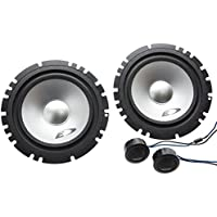 2) Alpine SXE-1750S 6.5 280W Car 2 Way Component Audio Speakers Stereo SXE1750S