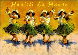 hawaiian birthday Amazon.: Hawaiian Happy Birthday Card Keiki Dance Class  hawaiian birthday