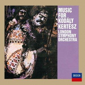 コダーイ:組曲「ハーリ・ヤーノシュ」、ハンガリー民謡〈孔雀〉による変奏曲 他