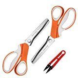 Best Scissors Set For Fabric Leathers - Pinking Shears Set Review