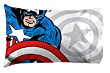 Jay Franco Marvel Avengers Comic Cool 7 Piece Queen Bed Set - Includes Comforter & Sheet Set - Bedding Features Captain America, Spiderman, Iron Man, Hulk, Thor - Super Soft