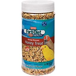 Forti-Diet Pro Health Orange Blossom Honey Treat [Set of 3] Pet type: Cockatiel, Size: 9.5 Ounce
