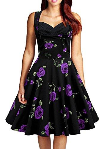 3 4 sleeve boatneck dress - 9