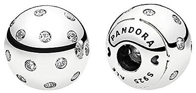 Pandora Women Silver Bead Charm - 796541CZ uR8Qj