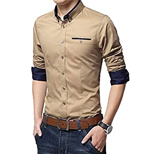 Krishna Emporia Men's Regular Fit Formal Shirt