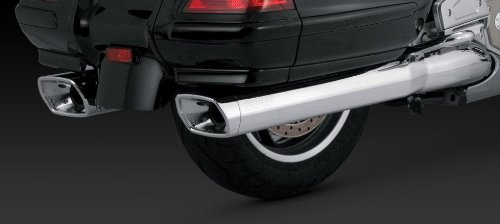 Goldwing Exhaust - Vance and Hines GL Monster Slip-On Exhaust for Honda 2001-11 Goldwing 1800 mode - One Size