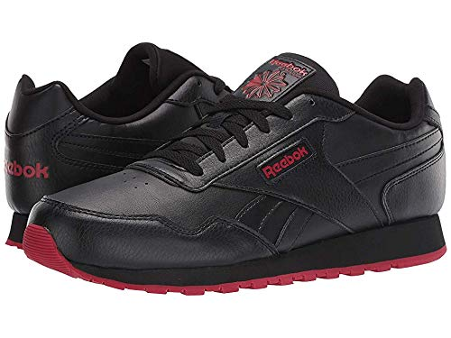 Reebok Men's Classic Harman Run S Us-Black/Flash Red 12 D US
