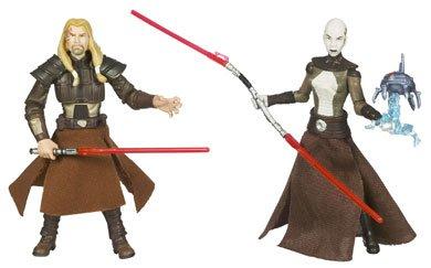 Star Wars Clone Wars Action Figure Comic 2-Pack Dark Horse: Republic #69 Asajj Ventress and Tol -