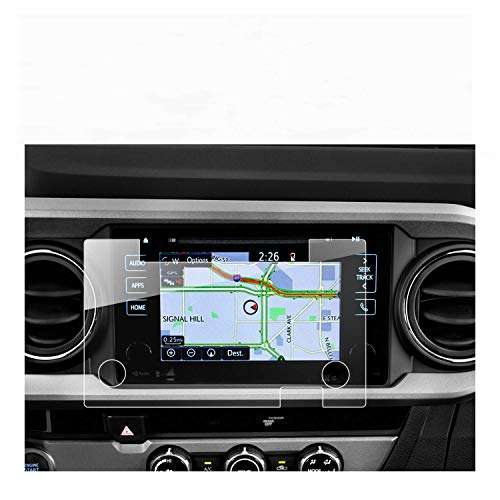 RUIYA 2016 2017 2018 Toyota Tacoma 7 inch in-Dash Entune Screen Protector, HD Clear Tempered Glass Car Navigation Screen Protective Film