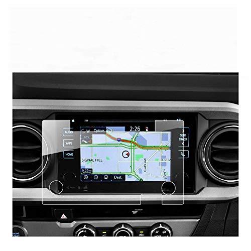 RUIYA 2016 2017 2018 Tacoma 7 inch in-Dash Entune Screen Protector, HD Clear Tempered Glass Car Navigation Screen Protective Film