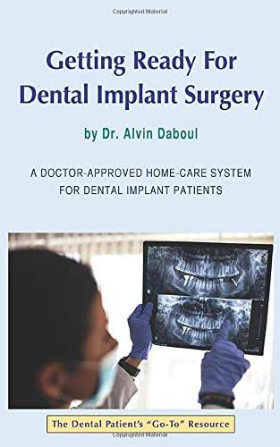 Getting Ready For Dental Implant Surgery: A Doctor-Approved Home-Care System For Dental Implant Patients