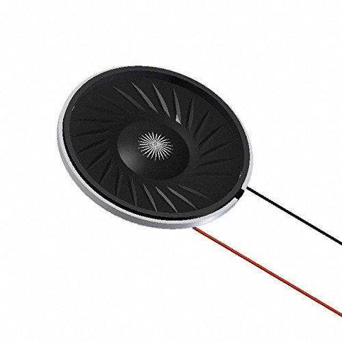 Speakers & Transducers SPEAKER 1W 80DBA 500HZ 8 OHM MYLAR (10 pieces)